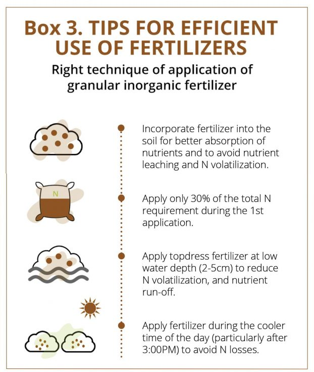 tips for efficient use of fertilizers